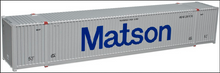 Pre-order Atlas O  53' container assortment (2 each of Marten, Maston, TMX) )