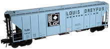 Atlas O Louis Dreyfus  PS4427 50' Covered Hopper, 3 rail or 2 rail