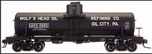 Atlas O Wolfs Head Motor Oil  8000 gallon tank car, 3 rail or 2 rail