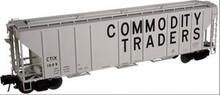 Atlas O Commodity Traders  PS4427 50' Covered Hopper, 3 rail or 2 rail