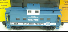 MTH Railking Scale Electro-Motive (EMD) NE'rn  style Caboose, 3 rail