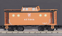 MTH Railking Scale PRR (focal orange) N5C Caboose, 3 rail