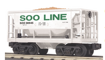 MTH Railking Scale Soo Line Ore Car w/Load, 3 rail