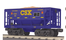 MTH Railking Scale CSX Ore Car w/Load, 3 rail