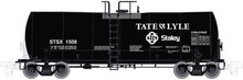 Atlas O Tate & Lyle 17,600 gallon 40' tank car, 3 rail or 2 rail