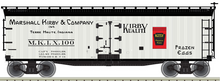 Pre-order for Atlas O Marshall Kirby & Co.  40' Wood Reefer, 3 rail or 2 rail