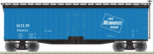 Pre-order for Atlas O  MILW Ice Service  40' Wood Reefer, 3 rail or 2 rail