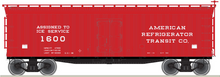 Pre-order for Atlas O  ART Ice Service  40' Wood Reefer, 3 rail or 2 rail