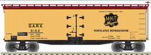 Pre-order for Atlas O  MKT 40' Wood Reefer, 3 rail or 2 rail