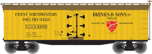 Pre-order for Atlas O  Brinks & Sons 40' Wood Reefer, 3 rail or 2 rail