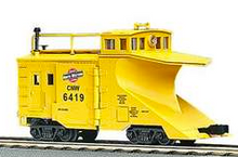 MTH Premier CNW wedge snow plow, 3 rail