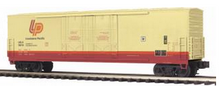 MTH Premier Louisiana  Pacific  Lumber 50' Double Plug Door Box car, 3 rail