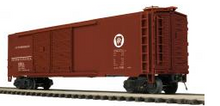MTH Premier PRR  50' Double  Door Box car, 3 rail