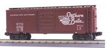 MTH Premier KCS 40' box car, 3 rail