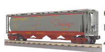 MTH Railking UP (map) cylindrical covered hopper car, 3 rail