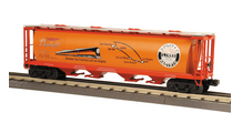 MTH Railking SP (map) cylindrical covered hopper car, 3 rail