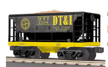 MTH Railking Scale DT&I Ore Car w/Load, 3 rail