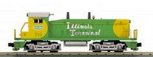 MTH Railking Illinois Terminal SW-9 switcher, 3 rail, P3.0