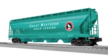 Lionel (Weaver) Great Noprthern 50' centerflow covered hopper, 3 rail