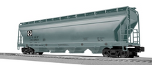 Lionel (Weaver) Santa Fe (old logo) 50' centerflow covered hopper, 3 rail