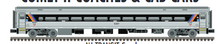 Pre-order for Atlas O NJT comet coach car,   3 rail or 2 rail