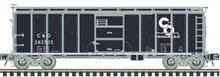 Pre-Order for Atlas O C&O (black)  1923 ARA (X-29 style)  40' box  car
