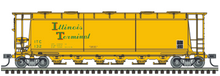 Pre-Order for Atlas O Illinois terminal cylindrical covered hopper car