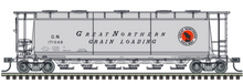 Pre-Order for Atlas O Great Northern cylindrical covered hopper car