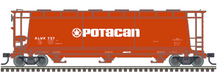 Pre-Order for Atlas O Potacan cylindrical covered hopper car