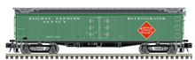 Pre-order for Atlas O REA (1950's, white lettering) 53' GACC express woodside reefer, 3 rail or 2 rail