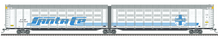 Pre-order for Atlas O Santa Fe  articulated auto carrier,  3 rail or 2 rail