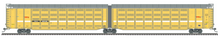 Pre-order for Atlas O TOAX (faded, red logo)  articulated auto carrier,  3 rail or 2 rail