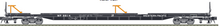 Pre-order for Atlas O Weatern Pacific 89' intermodal piggyback flat car