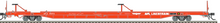 Pre-order for Atlas O APL Linertrain 89' intermodal piggyback flat car