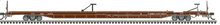 Pre-order for Atlas O FEC 89' intermodal piggyback flat car