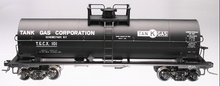 Atlas O Tank gas  (Schnectady, NY) 11,000 gallon tank car, 3 rail or 2 rail