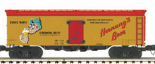 MTH Premier Hornung's Beer 36' wood reefer, 3 rail