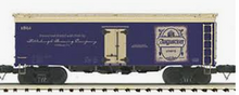 MTH Premier Augustiner Beer 36' wood reefer, 3 rail