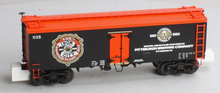 MTH Premier Iron City Beer 36' wood reefer, 3 rail