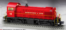 Pre-order for Lionel Legacy Morristown and Erie Alco S-2 switcher, 3 rail