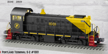 Pre-order for Lionel Legacy Pirtland Terminal (Maine Central)  Alco S-2 switcher, 3 rail
