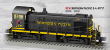 Pre-order for Lionel Legacy Northern Pacific  Alco S-4 switcher, 3 rail