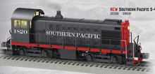 Pre-order for Lionel Legacy Southern Pacific  Alco S-4 switcher, 3 rail