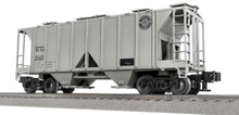 Lionel (Weaver) WM (circle logo) 34' ACF AC-2 covered hopper car , PLASTIC trucks/couplers,
