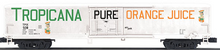 MTH Premier Tropicana PURE  60'  Reefer 3 rail