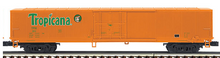 MTH Premier set of 4 Tropicana Orange   60'  Reefers , 3 rail