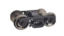Atlas O 2 rail 70 ton Roller bearing  diecast/sprung trucks (Pair)