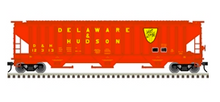 Pre-order for Atlas O (trainman) D&H PS4750 Covered Hopper car