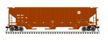 Pre-order for Atlas O (trainman) BNSF (small logo)  PS4750 Covered Hopper car