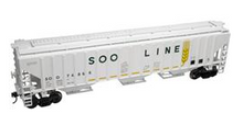Pre-order for Atlas O (trainman) SOO LINE   PS4750 Covered Hopper car